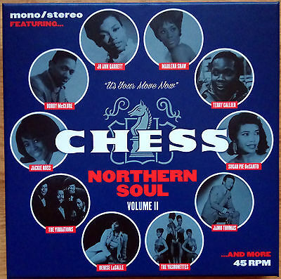 "CHESS NORTHERN SOUL: VOLUME II - NEW SEALED 7 X 7"" BOX SET 45s"