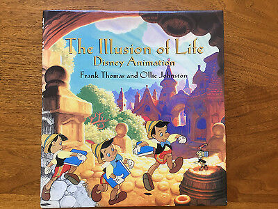 THE ILLUSION OF LIFE Disney Animation by Frank Thomas and Ollie Johnston