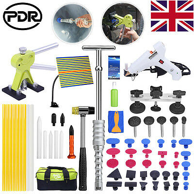 UK Paintless Dent Removal PDR Slide Hammer Dent Lifter Hail Repair Puller Bridge