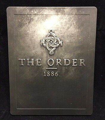 The Order 1886 STEELBOOK ONLY *no game* PS4 w/stickers