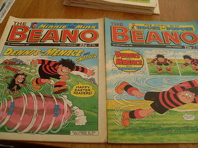 The Beano Comic Issue's No 2436 / 2437 1989