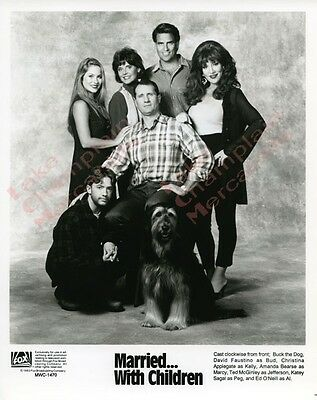 MARRIED WITH CHILDREN Press Photo #37 8X10 CHRISTINA APPLEGATE Katey Sagal BUCK