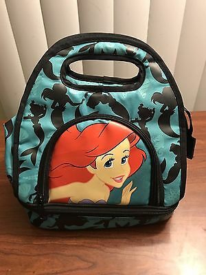Disney Loungefly Little Mermaid Insulated Lunch Bag Box Tote