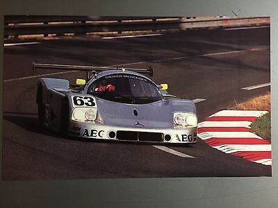 1990 Mercedes World Sports Car Print, Picture, Poster RARE!! Awesome L@@K