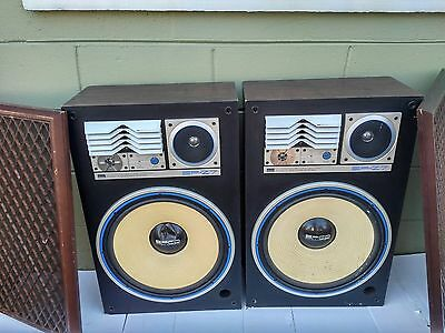 Vintage Sansui SP-Z7 speakers RARE GREAT CONDITION SUPER DEAL FREE SHIPPING