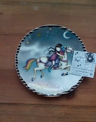 BRAND NEW, BOXED Gorjuss 'The Runaway' decorative plate
