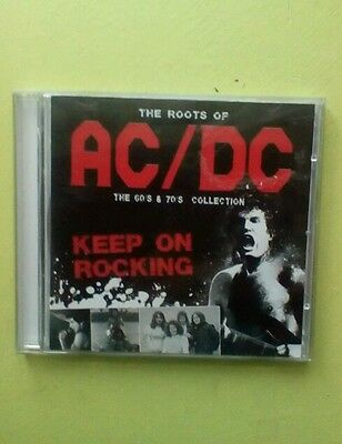 AC/DC The roots of acdc, 60's  70's cd, Bon Scott and Brian Johnson