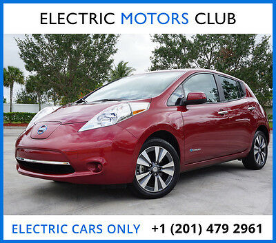 2015 Nissan Leaf SV Worldwide. Warranty. No accidents. One owner. Clean Carfax. Low miles.