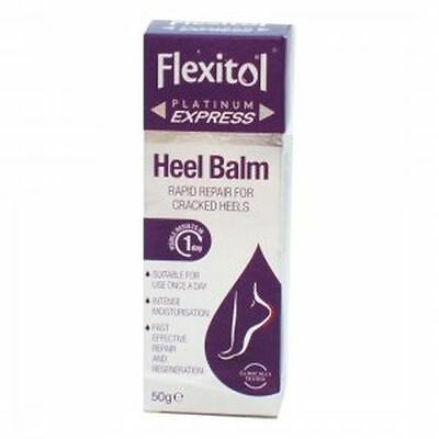 Flexitol Platinum Heel Balm 50g | Rapid Repair For Cracked Heels | **FREE POST**
