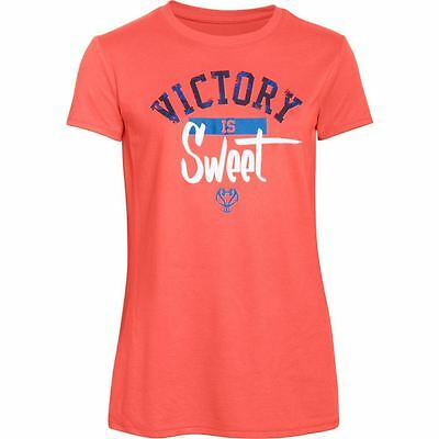 Under Armour Girl's UA Victory Is Sweet Basketball Short Sleeve T-Shirt