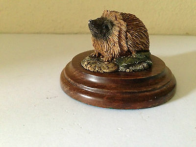 Hedgehog Figurine Country Artists CA265 Collectable Gift