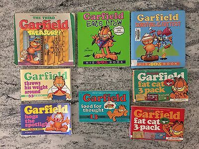 LOT Of 9 Fabulous Vintage Garfield Comic Books Treasury 3 Packs
