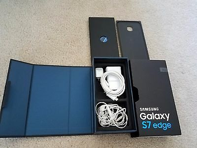 Samsung Galaxy S7 Edge box plus accessories --NO PHONE