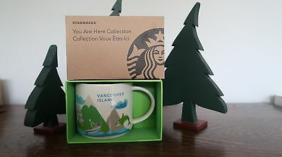 Starbucks YOU ARE HERE Collection VANCOUVER ISLAND Coffee Mug Cup14oz New In Box