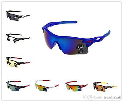Men or Women Sports Outdoor Cycling Goggles Eyewear UV400 Sunglasses Glasses