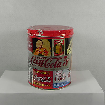 Lot of 2 Coca Cola Jigsaw Puzzles Sealed 700 Piece In Collectible Tins