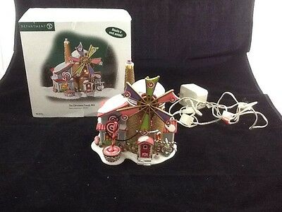 """Dept 56 North Pole Series """"The Christmas Candy Mill""""  #56 56762"""