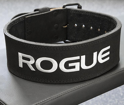Rogue Fitness Echo 10mm Leather Weightlifting Powerlifting Belt Maximum Support