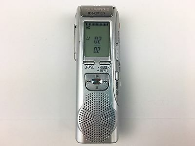 Panasonic RR-QR180 Digital Handheld Voice Recorder IC Silver - Tested
