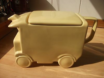 Art Deco 1930's Delivery Van TEAPOT  in the style of SADLER