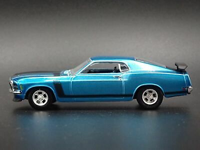 1970 Ford Mustang Boss 302 Rare 1:64 Collectible Diorama Diecast Model Car