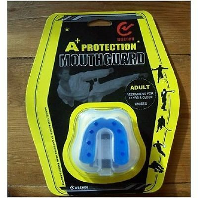 Wacoku Mouthguard Gel Fit A+ Karate Kick Boxing MMA Muay Thai Mouth Guard