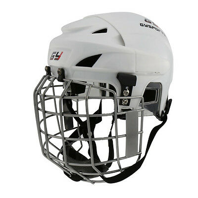 White NEW ARRIVAL Ice Hockey Player Helmet Hockey Face Mask XS-XL Free Shipping