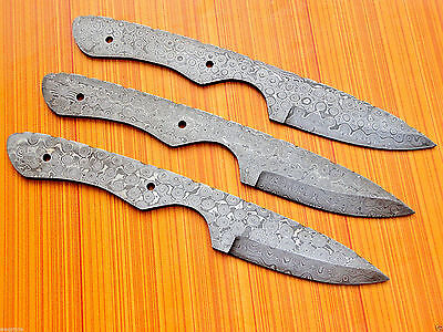 "235mm (9.25"") Damascus steel blank blade for knife making"