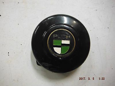 1980 Puch Moped Sport Mk Ii Black Flywheel Cover With Green White Gold Nice L$$K