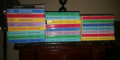 Lot 19 Large Print Readers Digest Select Edition Books 2004 2006 2010 - 2016