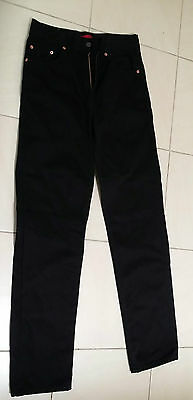 Levis 504 Red Tab - Black Jeans