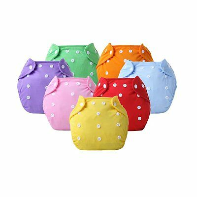 Baby Waterproof Reusable Nappy Washable Inserts Covers Cloth Diapers Pants AU