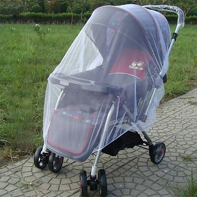 Kid Baby Buggy Pram Mosquito Net Pushchair Stroller Insect Protector Cover AU