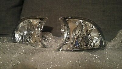 BMW E46 Coupe / Cabrio Crystal Clear Front Indicators Pre-Facelift 99-02