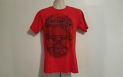 Vintage The Allman Brothers Band Adult Small Red TShirt