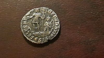 CONSTANS 337-350   Ancient Roman Coin EMPEROR ON GALLEY