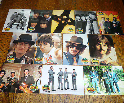 *<* LAST ONE! LOT of 12 BARGAIN-PRICED BEATLES GROUP PORTRAIT RIVER GROUP CARDS