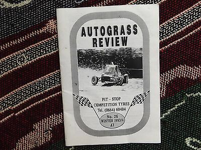 Autograss Review - Winter 1993-94 Issue