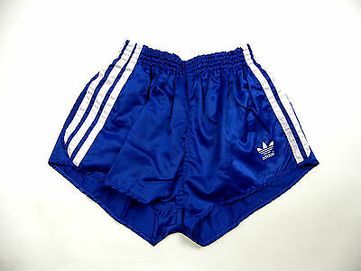 Vintage Adidas Sprinter shiny nylon Shorts glanz sporthose West Germany