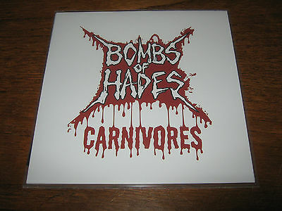 "BOMBS OF HADES ""Canivores"" 7""  miasmal bastard priest undergang"