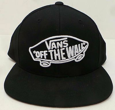 Vans Black Boys Youth Cap Snapback, BRAND NEW