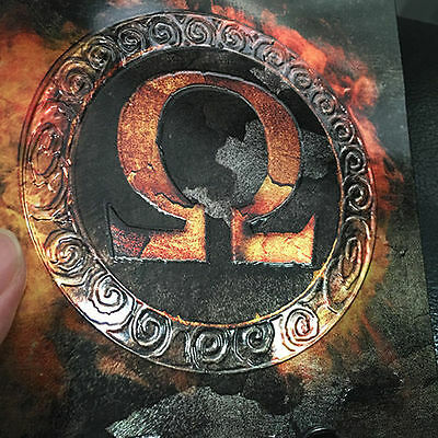 GOD OF WAR OMEGA COLLECTION PS3 LIMITED STEELBOOK AND 5 GAMES IN 3 DISC - rare