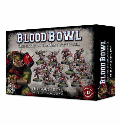 Blood Bowl - The Gouged Eye Team Games Workshop Ork Fantasy Football 200-15