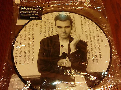 "Morrissey - Suedehead (Mael Mix) - 10"" Picture Europe UNPLAYED"