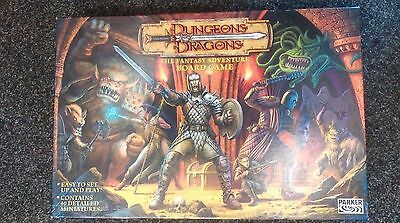 Dungeons & Dragons Fantasy Adventure Board Game Parker 2003