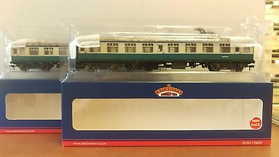 Bachmann 39-001 BR MK1 SK Coach Pack Works Test Train Blue & Grey (Weathered)