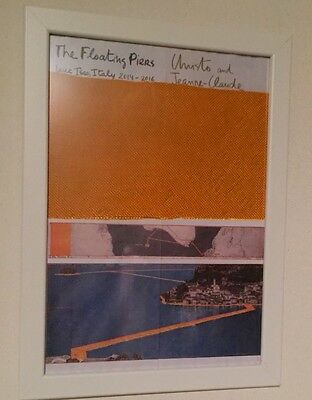 The Floating Piers Christo and Jeanne Claude Iseo Lake '16