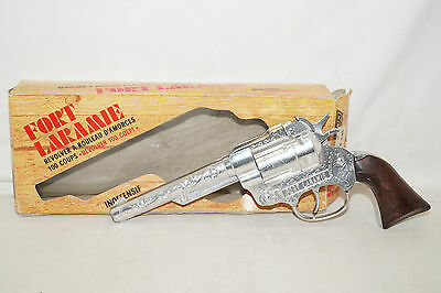 Fort LARAMIE vintage Zündplättchen Pistole Revolver ART.0080 Made in Italy ERR
