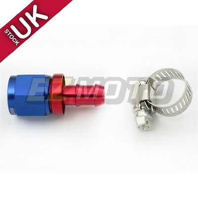 AN-10 AN10 Push-On Hose End Car Performance fittings to Barb Adaptor Straight