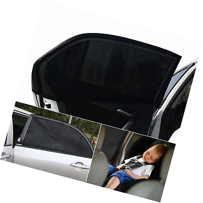 ieGeek 2 Pieces Car Sun Shades Covers Car Side Rear Window To Protect Your Baby,